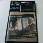 STAR WARS A New Hope Book and Cassette pack sealed
